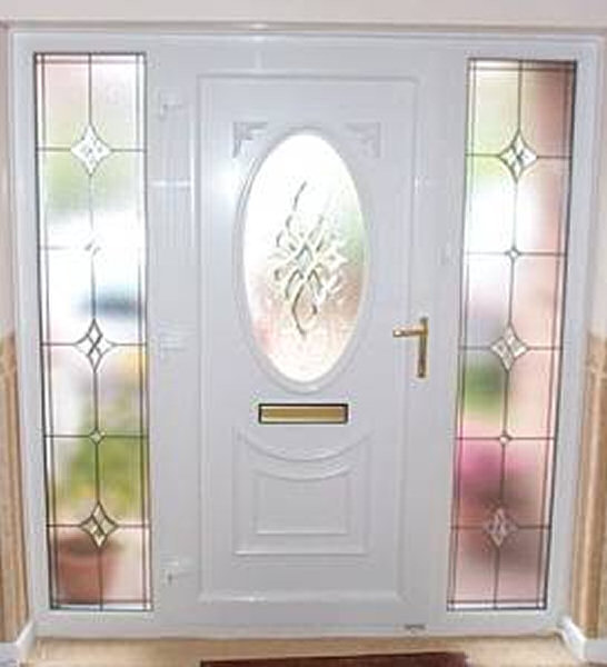 on composite front doors with side panels uk